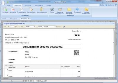program WMS2enova