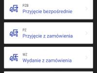 Korzystanie z systemu WMS Android